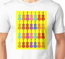 Violin Colors #3 Unisex T-Shirt