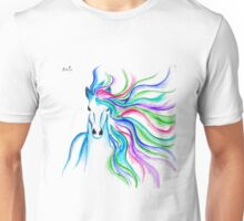 Unicorn Pen and Ink drawing Unisex T-Shirt