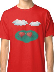 HEARTS IN THE CLOUDS Classic T-Shirt