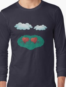 HEARTS IN THE CLOUDS Long Sleeve T-Shirt
