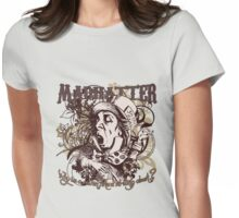 Mad Hatter Carnivale Style Womens Fitted T-Shirt