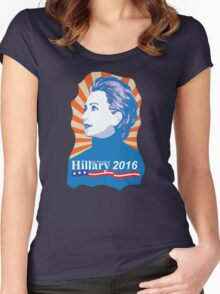 Hillary 2016 Women's Fitted Scoop T-Shirt