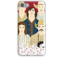 The Country Of Living Dangerously (Face & Movies) iPhone Case/Skin