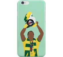 Cameron Jerome lifts the Play-Off Final Trophy iPhone Case/Skin