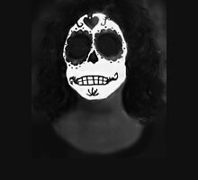 Day Of The Dead Portrait Womens Fitted T-Shirt