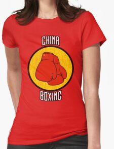 China Boxing Womens Fitted T-Shirt