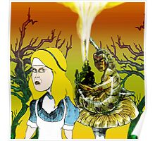 Alice and the Hookah Smoking Caterpillar part 2 Poster