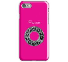 Hot Pink Rotary Phone iPhone Case/Skin