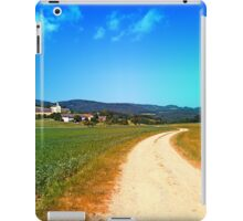 Another lonely hiking trail iPad Case/Skin