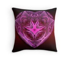 Heart Of Glass Throw Pillow