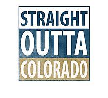 Straight Outta Colorado Photographic Print