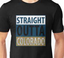 Straight Outta Colorado Unisex T-Shirt