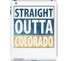 Straight Outta Colorado iPad Case/Skin