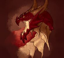 Fire Dragon by charulein