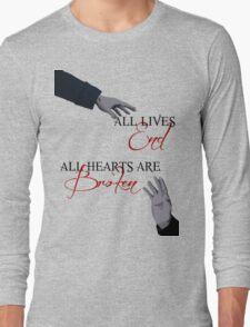 The Reichenbach Fall - Sherlock BBC Long Sleeve T-Shirt