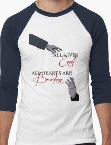 The Reichenbach Fall - Sherlock BBC Men's Baseball ¾ T-Shirt