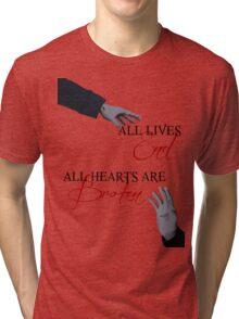 The Reichenbach Fall - Sherlock BBC Tri-blend T-Shirt