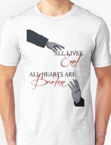The Reichenbach Fall - Sherlock BBC T-Shirt