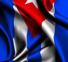 Cuba Flag Drop by CreativoDesign