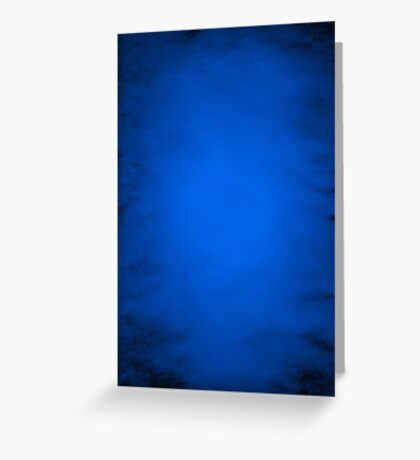 Crumpled blue paper  Greeting Card