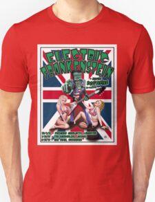 Electric Frankenstein 1999 UK Tour Poster T-Shirt