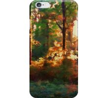 A Light in the Forest iPhone Case/Skin