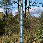 Shades of Death Road Sign, Warren County, New Jersey. by Jane Neill-Hancock