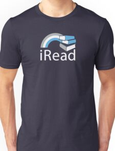 i Read | Reading Slogan for Book Lovers T-Shirt