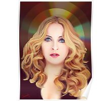 Madonna of the Golden Disk Poster