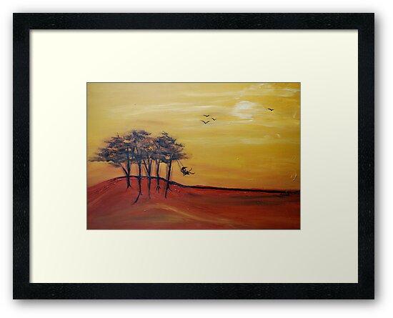 swinging in the breeze by Mark Malinowski