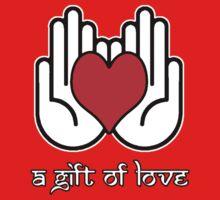 A Gift Of Love dot Info merch jan 2012 no text One Piece - Short Sleeve