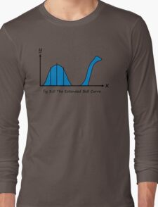 Bell Curve Humor Long Sleeve T-Shirt
