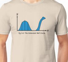 Bell Curve Humor Unisex T-Shirt