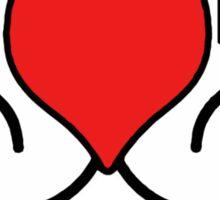 A Gift Of Love dot Info merch jan 2012 text Sticker