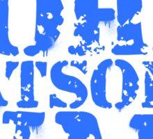 I'm Fighting John Watson's War V.2 Sticker