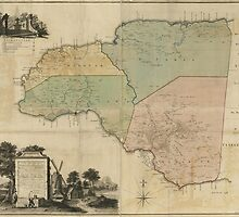 Map of Cornwall Count Jamaica (1763) by allhistory