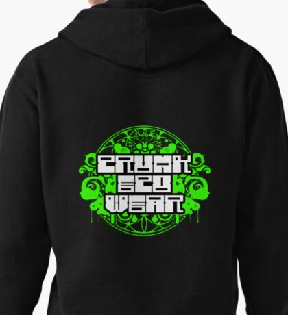 Crunk Eco Wear Official Merch no text Pullover Hoodie