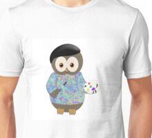 Owly Bird Artist Unisex T-Shirt