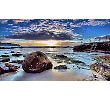 Bronte's tingle  Photographic Print