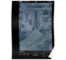 USGS Topo Map Washington State WA Ritzville SW 20110401 TM Inverted Poster