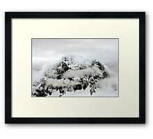 Weather in Antarctica Framed Print