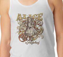 Alice In Wonderland Carnivale Style - Gold Version T-Shirt
