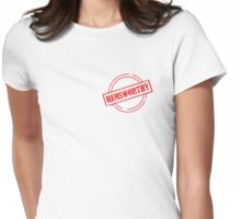 Are you Certified Hemsworthy? Womens Fitted T-Shirt