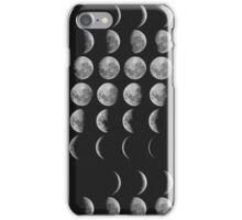 Tumblr Moon Phase Design iPhone Case/Skin