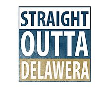 Straight Outta Delawera Photographic Print