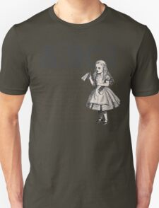 Alice In Wonderland with Text T-Shirt