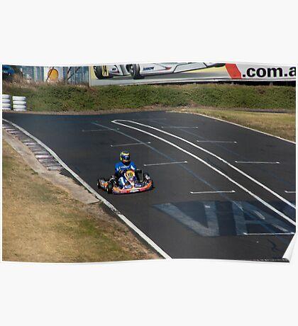 Kart racing Poster