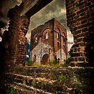 Blast Furnace - Lithgow NSW by Ian English