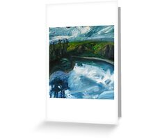 River in Flood Greeting Card