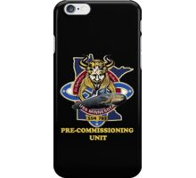 SSN-783  Pre-commissioning Unit Crest for Dark Colors iPhone Case/Skin